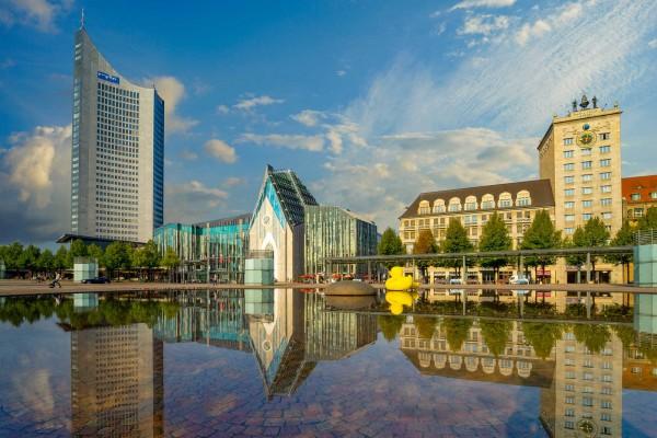 Wandbild Leipzig - Der Augustusplatz (Motiv DML01)