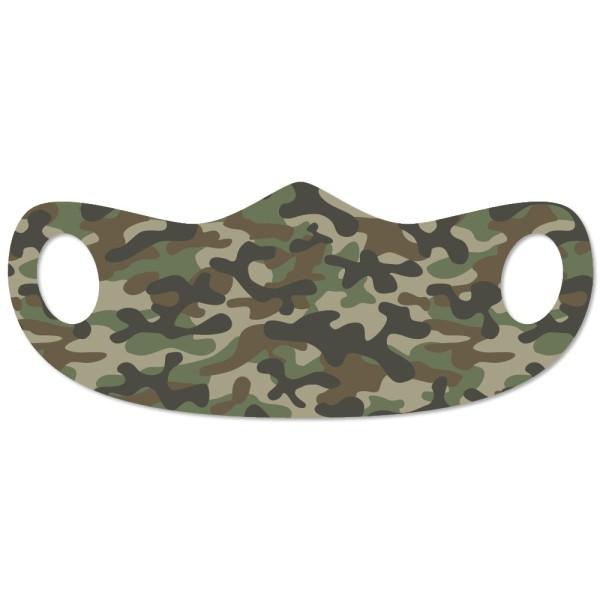 Mund- und Nasenmaske Camouflage