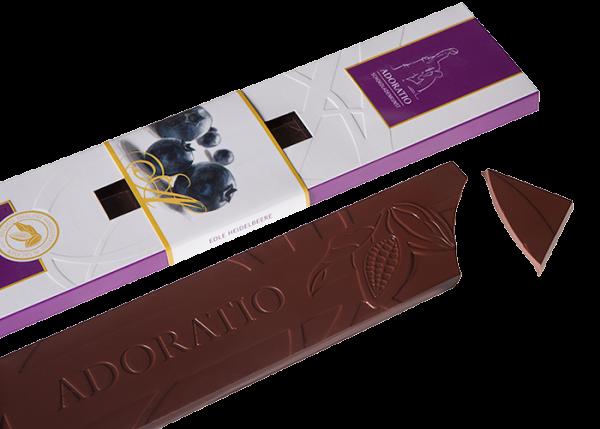 Bio-Schokolade - Edle Heidelbeere