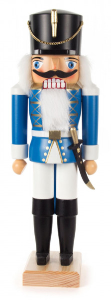 Nussknacker Husar blau, 34cm