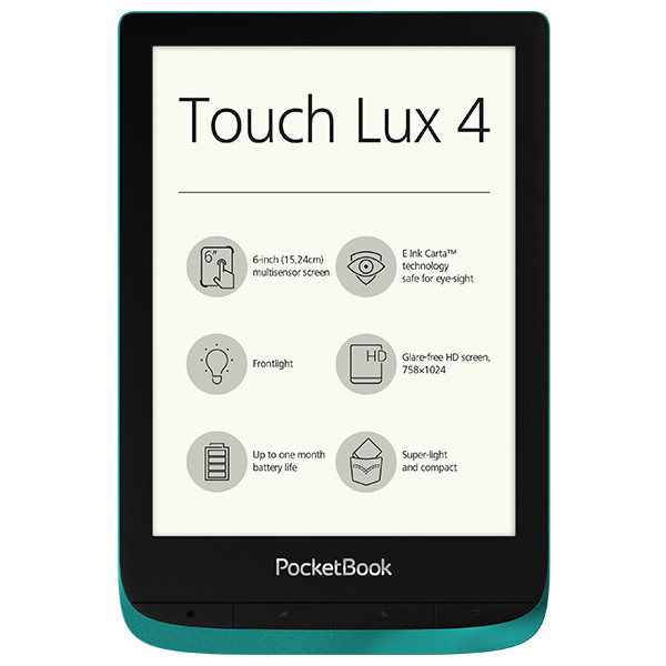 PocketBook Touch Lux 4 emerald (1)