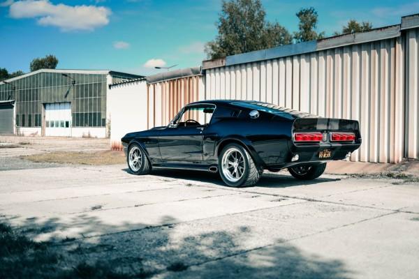 Wandbild 1967 Ford Mustang ELI V (Motiv V8 06)