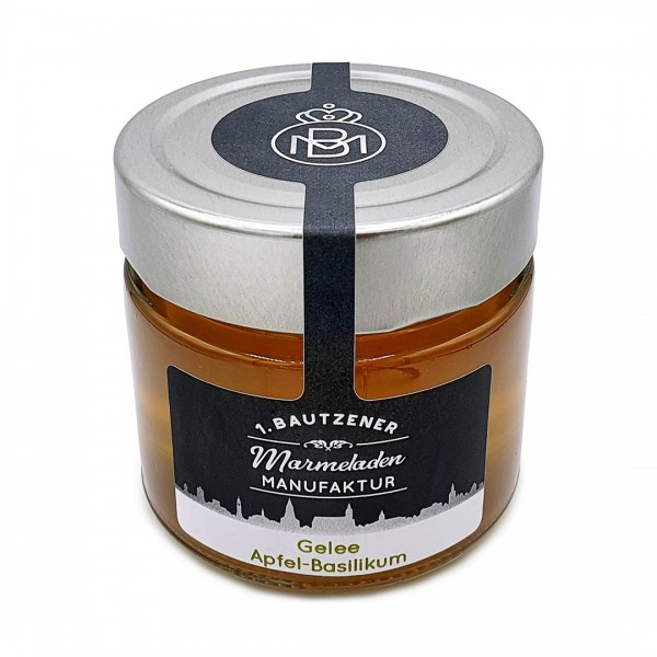 Marmelade (Gelee) Apfel-Basilikum