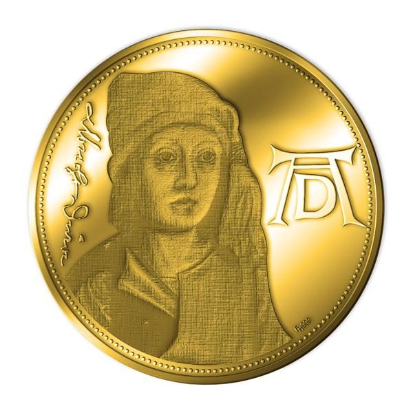 Sonderprägung Feingold 2021 – 550. Geburtstag Albrecht Dürer – Selbstbildnis des Knaben