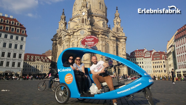 Rikschafahrt für Zwei in Dresden