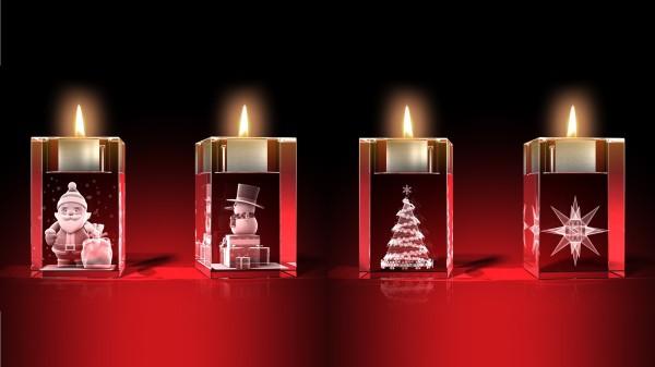 Advents-Teelichter-Set 3
