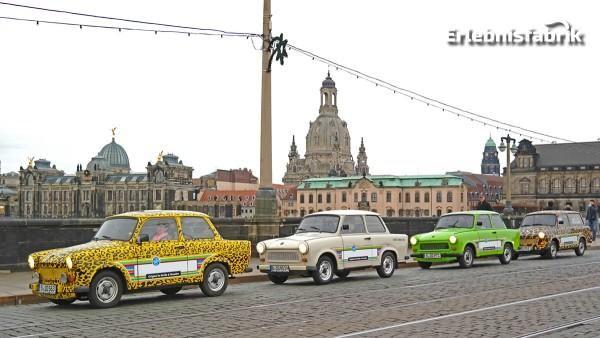Trabi Safari durch Dresden