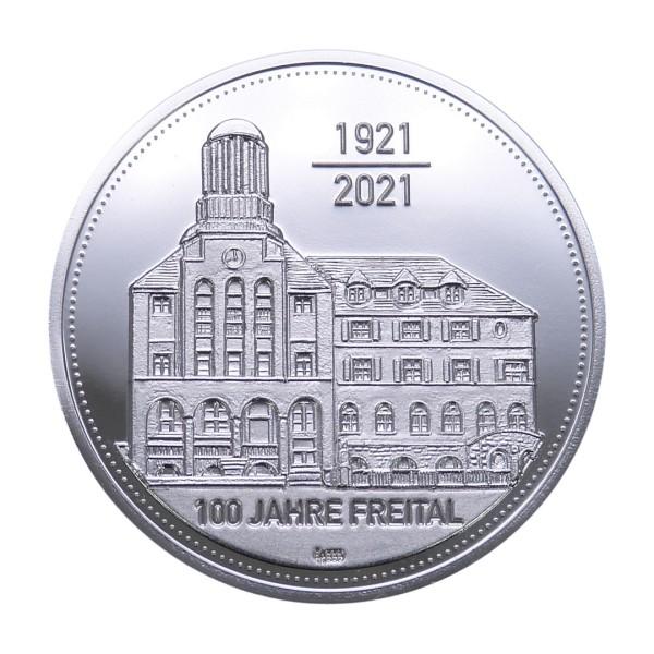 Sonderprägung Feinsilber - 100 Jahre Freital 2021