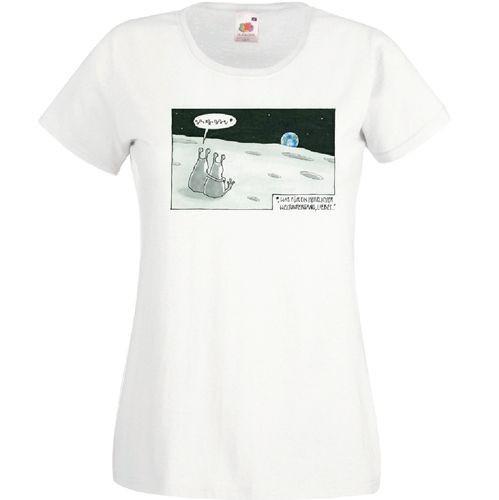Damen-Shirt Weltuntergang