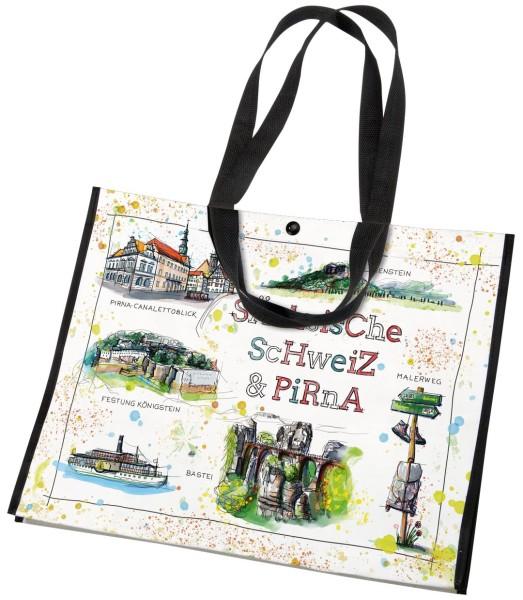 Sächsische Schweiz - Fineart: PET-Tasche