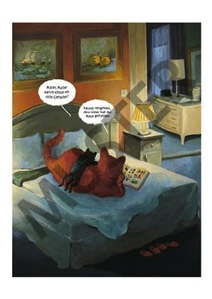 Postkarte Katerstimmung