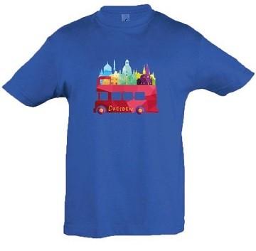 """Kinder-T-Shirt """"Dresden-Bus"""""""