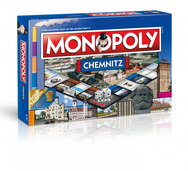Monopoly Goldedition Chemnitz