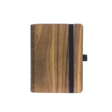 Notizbuch aus Holz - Walnuss A5