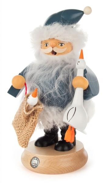 Räuchermann Nordic Santa mit Gans