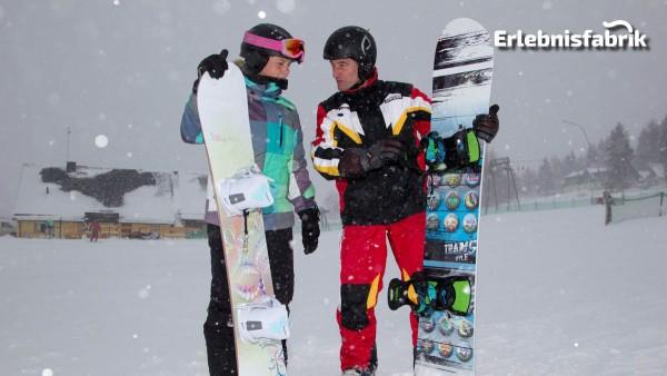 Snowboardkurs in Altenberg