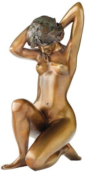 Erwin A. Schinzel: Skulptur Am Fluss (Badeskizze II)