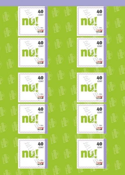 10er Block Briefmarken (0,40 €) Original Sächsisch 2016