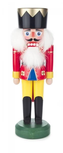 Nussknacker König rot-gelb, 28cm