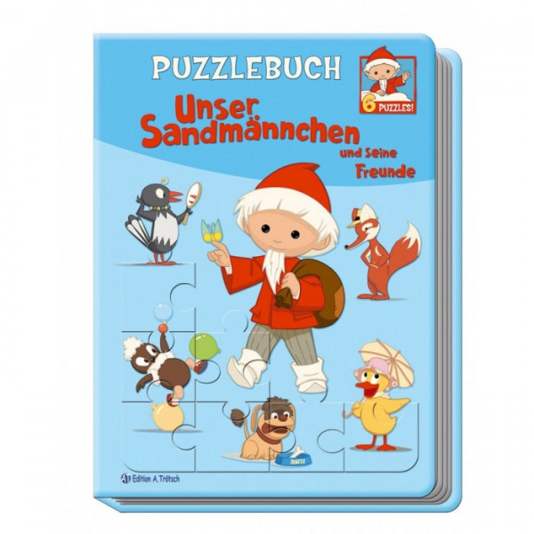 Puzzlebuch Sandmännchen