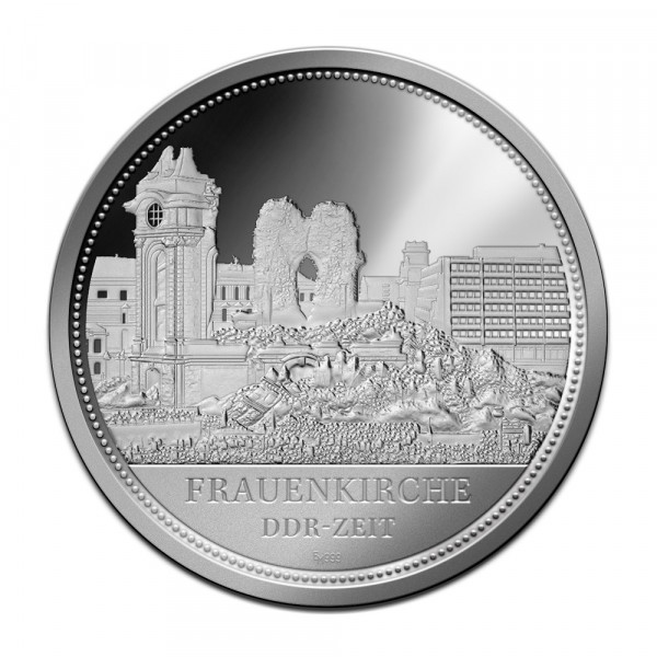 Sonderprägung Feinsilber - Dresden - DDR-Zeit