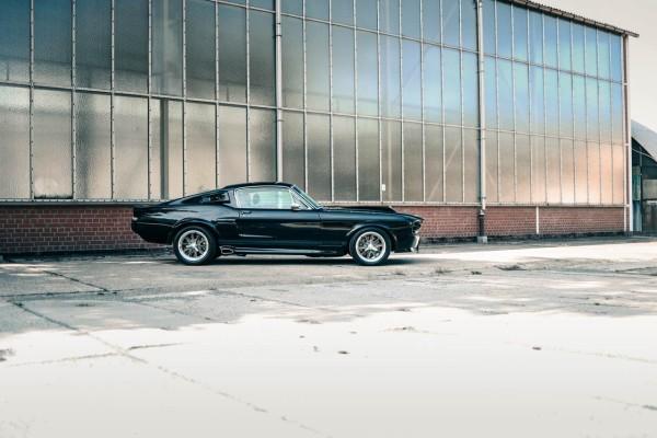 Wandbild 1967 Ford Mustang ELI V (Motiv V8 07)