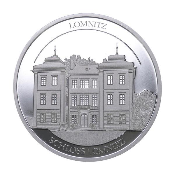 Sonderprägung Feinsilber 2021 – Schlesien Sammeledition – Schloss Lomnitz