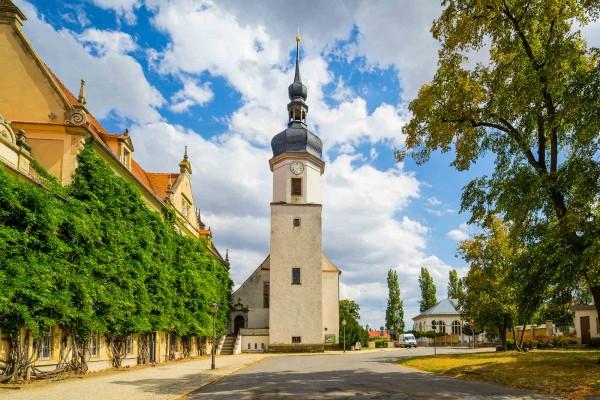 Wandbild Riesa - Die Klosterkirche (Motiv DMRIE45)