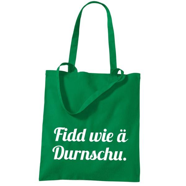 Stoffbeutel Fidd wie ä Durnschu