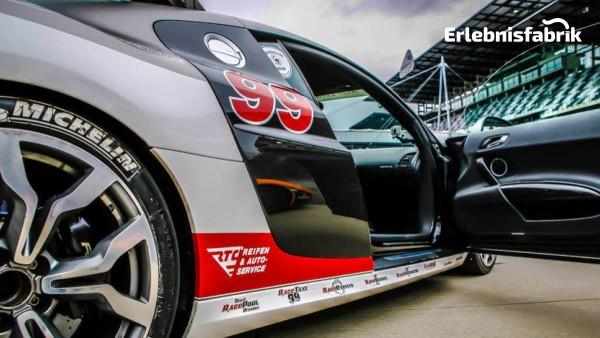 Audi R8 V10 selber fahren auf dem Lausitzring