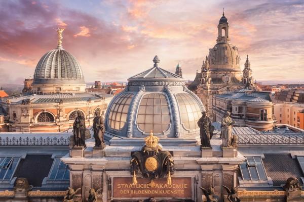 Wandbild Dresden (Motiv 00799)