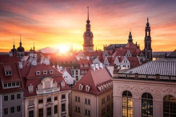 Wandbild Dresden (Motiv 00803)