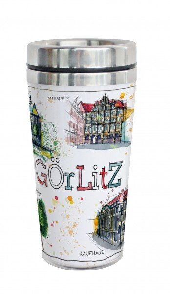 Görlitz - Fineart: Coffee-to-go-Becher