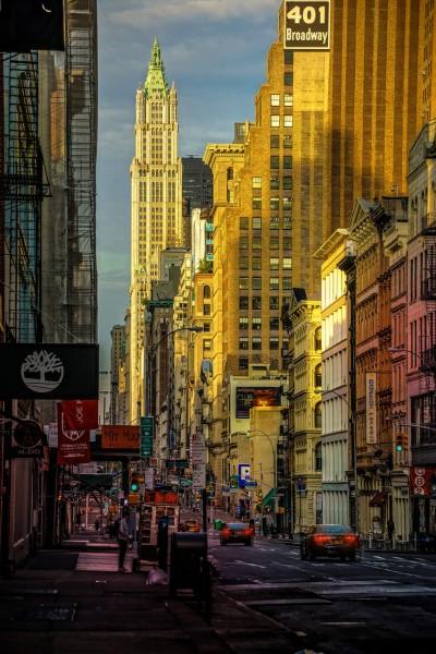 Wandbild New York - Broadway (Motiv JR02)