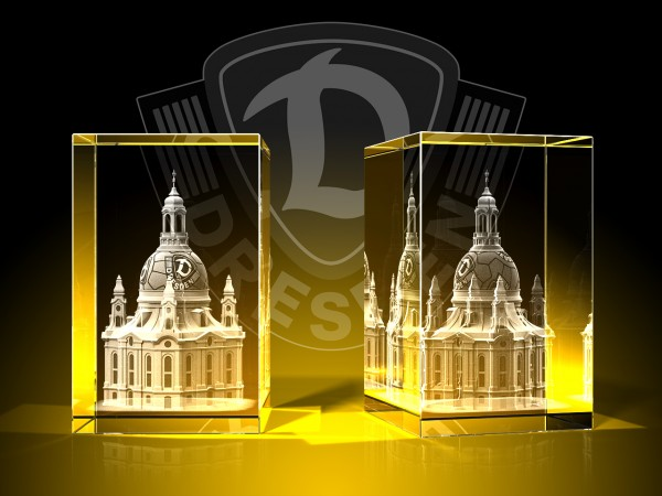 Dynamo Dresden Frauenkirche - Quader
