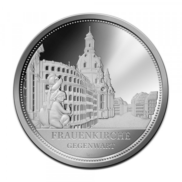 Sonderprägung Feinsilber - Dresden - Gegenwart