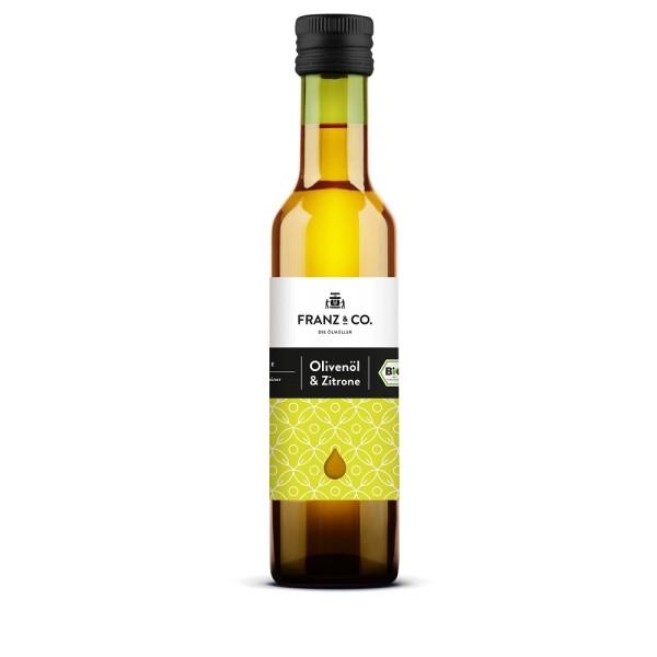 Franz & Co. Bio-Olivenöl mit Zitrone