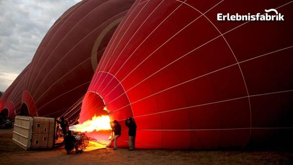 Ballonfahrt in Sachsen