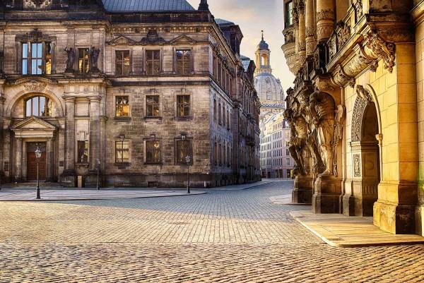 Wandbild Dresden - Der Schlossplatz (Motiv DMDD18)