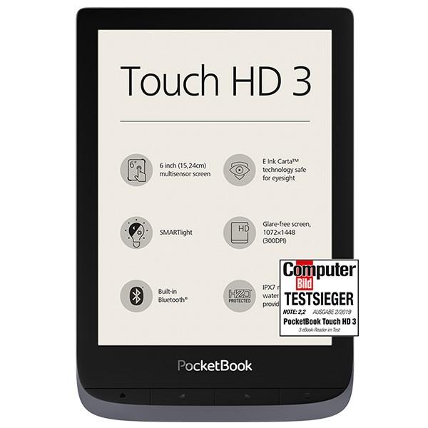 PocketBook Touch HD 3 metallic grey (1)